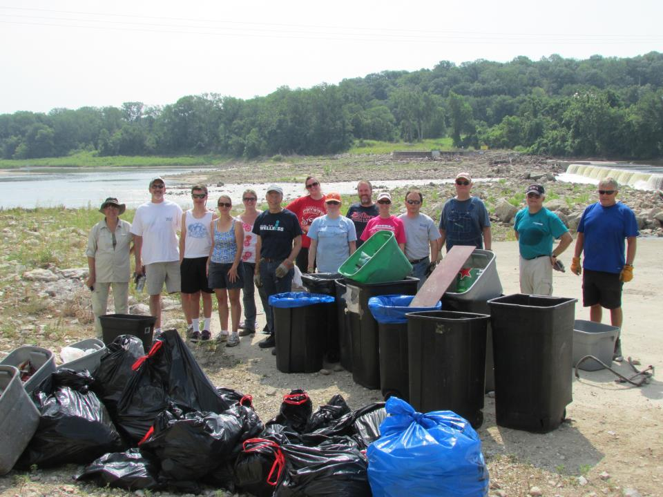 Kansas River Clean-up