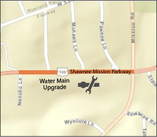 Shawnee Mission Parkway Map
