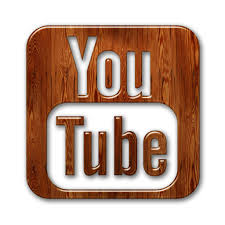 YouTube wood icon